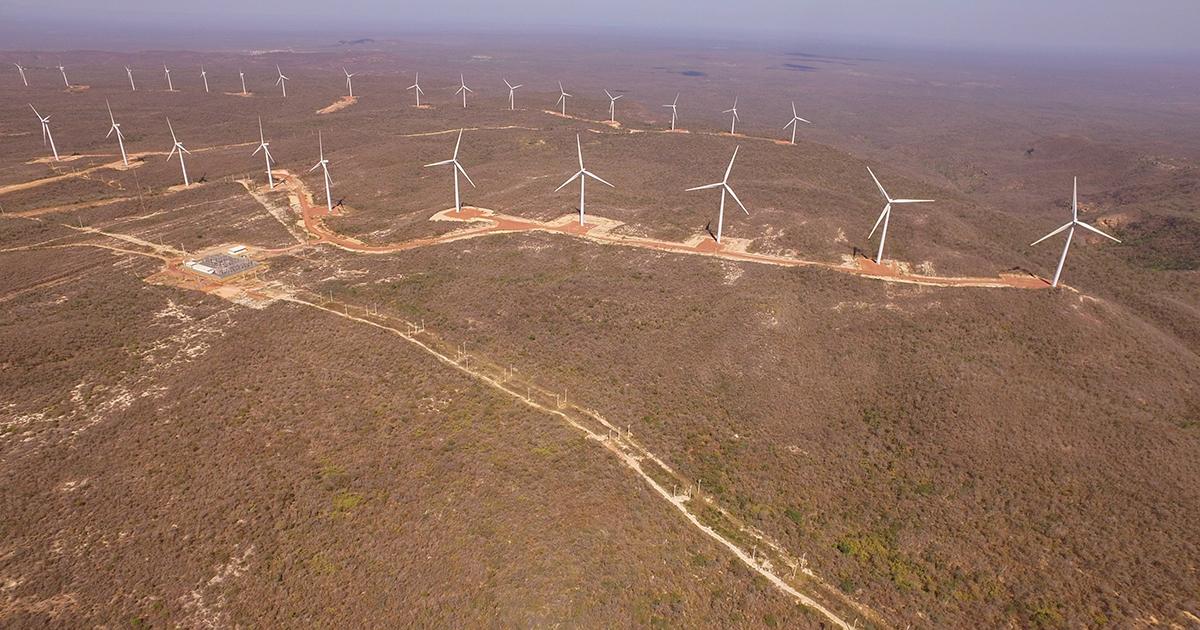 Nordeste bate recordes de abastecimento eólico