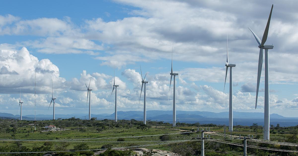Geração eólica no Ceará cresce 4,8% em 2017