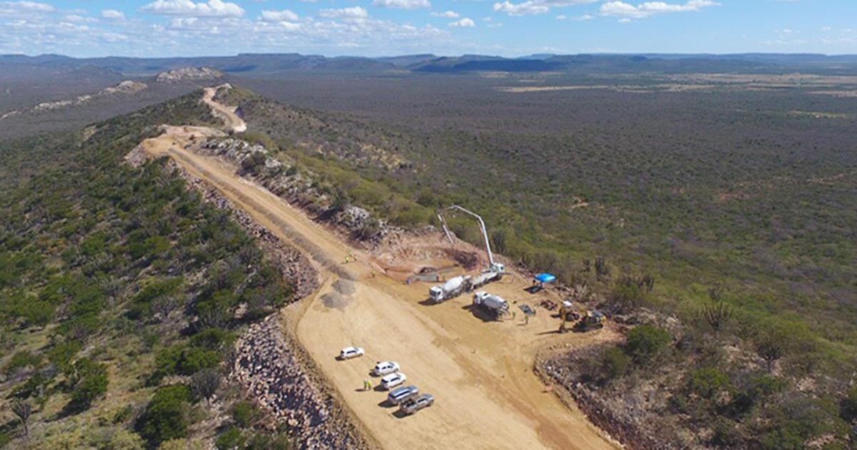 Novo parque eólico está em estágio avançado de obras