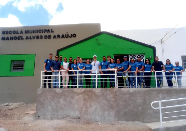 (Português do Brasil) Echoenergia investe três milhões para projetos sociais em Serra do Mel no Rio Grande do Norte