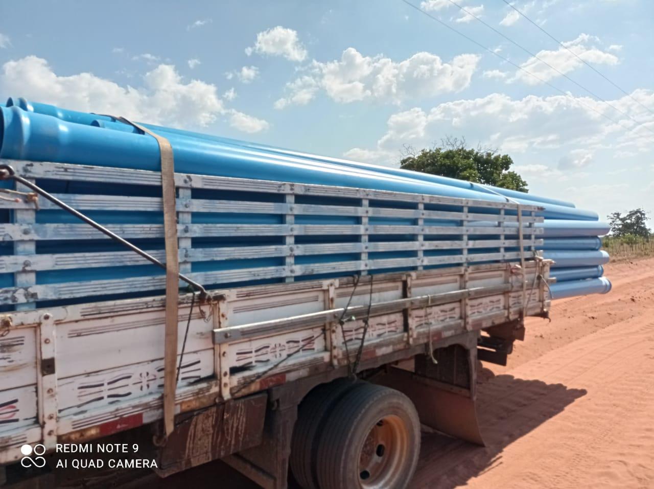 (Português do Brasil) Echoenergia doa 100 mil reais para compra de dutos para abastecimento hídrico em Serra do Mel