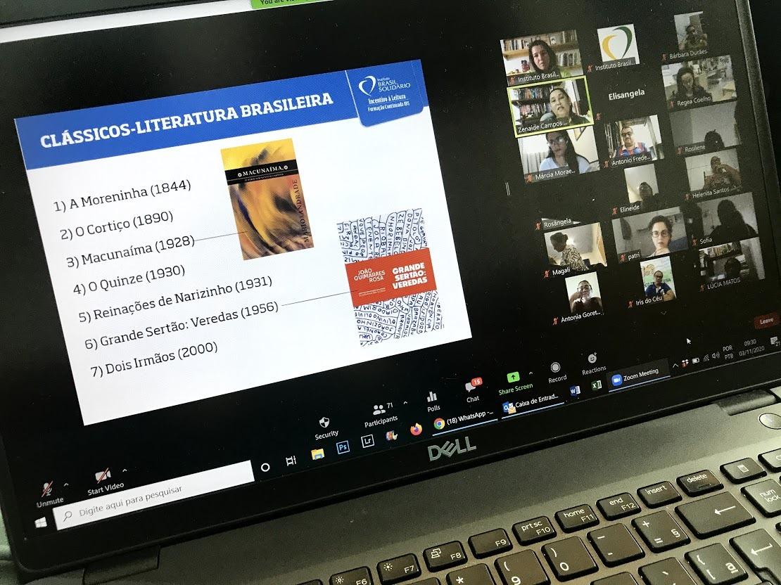 """(Português do Brasil) Projeto """"Ventos que Transformam"""" da Echoenergia, junto ao Instituto Brasil Solidário, realiza oficinas de capacitação online para professores"""